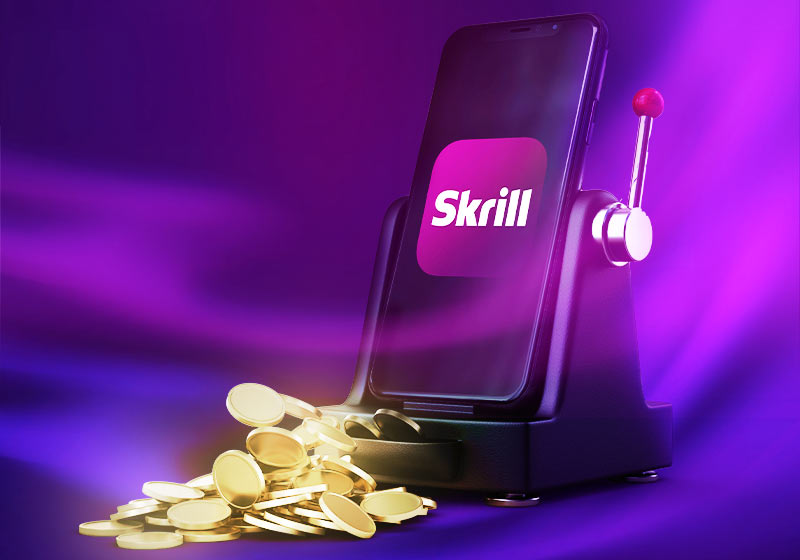 Online payments in a casino via Skrill