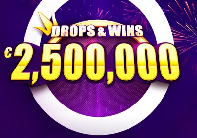 Drops and wins 2 500 000 € Network tournament